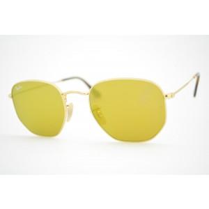 óculos de sol Ray Ban Hexagonal mod rb3548-N 001/93 tamanho 54