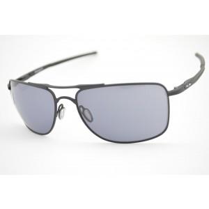 óculos de sol Oakley mod Gauge 8 matte black w/grey 4124-0162