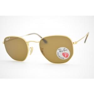 óculos de sol Ray Ban Hexagonal mod rb3548-N 001/57 Polarizado tamanho 54