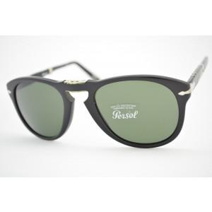 óculos de sol Persol mod 714 95/31 tamanho 54