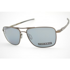 óculos de sol Oakley mod Gauge 6 pewter w/prizm black polarized 6038-0657