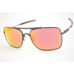óculos de sol Oakley mod Deviation Polished Black/ Ruby Iridium 004061-04