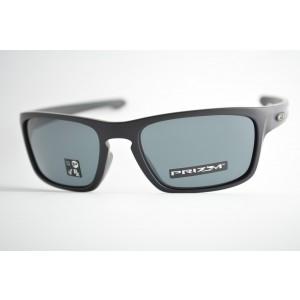 óculos de sol Oakley mod Sliver Stealth matte black w/prizm grey 9408-0156