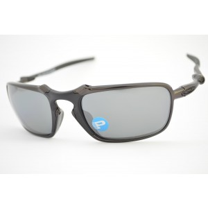 óculos de sol Oakley mod Bad Man dark carbon w/black iridium polarized 006020-01