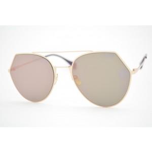 óculos de sol Fendi mod Eyeline ff0194/s ddbap