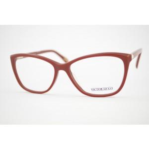 armação de óculos Victor Hugo mod vh1738s col.01aw