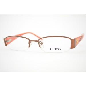armação de óculos Guess Infantil mod gu9080 brn