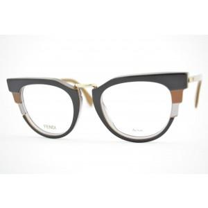 armação de óculos Fendi mod FF0115 MVB
