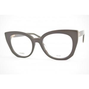 armação de óculos Fendi mod Peekaboo FF0272 09q