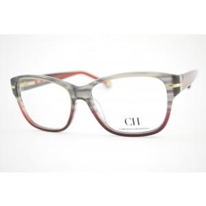 armação de óculos Carolina Herrera mod vhe580 col.0M62