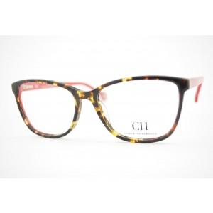 armação de óculos Carolina Herrera mod vhe717 col.0741