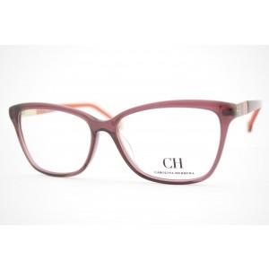 armação de óculos Carolina Herrera mod vhe585 col.OW48
