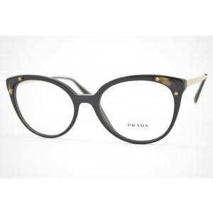 armação de óculos Prada mod vpr12U 1AB-1O1