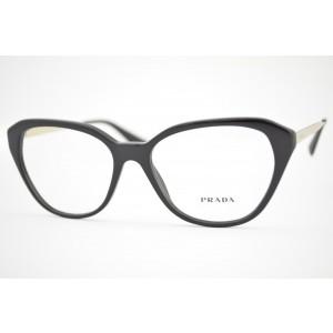 armação de óculos Prada mod vpr28S 1AB-1O1