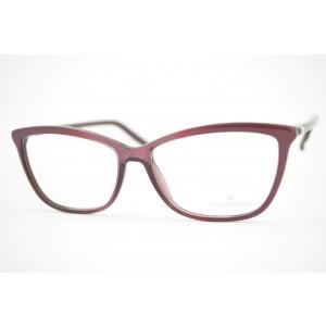 armação de óculos Swarovski mod Famous sw5137 071