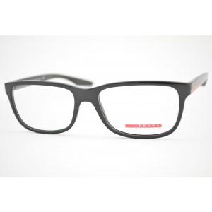 armação de óculos Prada Linea Rossa mod vps02G UB7-1O1