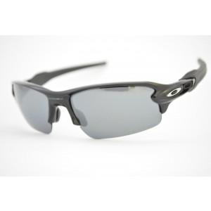 óculos de sol Oakley mod Flak 2.0 polished black w/black iridium polarized 9295-07